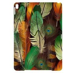 Feathers Realistic Pattern Apple Ipad Pro 10 5   Black Uv Print Case by Vaneshart