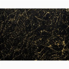 Black Marbled Surface Canvas 12  X 16
