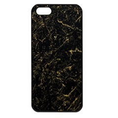 Black Marbled Surface Iphone 5 Seamless Case (black)