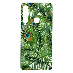 Peacock Feathers Pattern Samsung Galaxy A9 Tpu Uv Case