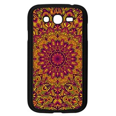 Mandala Vector Tribal Vintage Ethnic Seamless Pattern Print Samsung Galaxy Grand Duos I9082 Case (black)