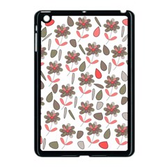 Zappwaits Flowers Apple Ipad Mini Case (black) by zappwaits