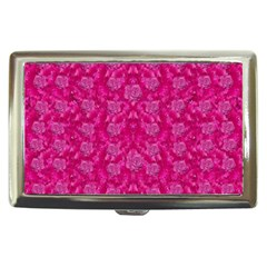 Roses And Roses A Soft Flower Bed Ornate Cigarette Money Case by pepitasart