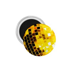 Golden Disco Ball 1 75  Magnets by essentialimage