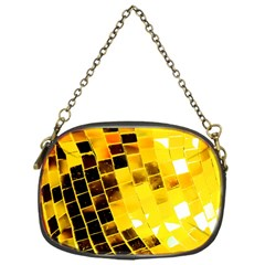 Golden Disco Ball Chain Purse (one Side) by essentialimage