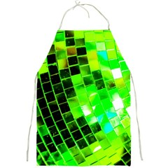 Green Disco Ball Full Print Apron by essentialimage