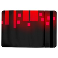 Light Neon City Buildings Sky Red Ipad Air 2 Flip by HermanTelo