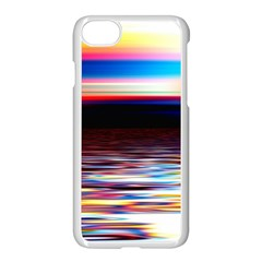 Lake Sea Water Wave Sunset Iphone 7 Seamless Case (white)