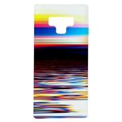 Lake Sea Water Wave Sunset Samsung Galaxy Note 9 Tpu Uv Case
