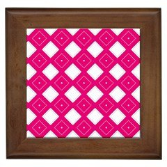 Backgrounds Pink Framed Tile