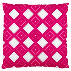 Backgrounds Pink Large Cushion Case (one Side)
