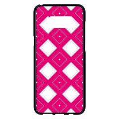 Backgrounds Pink Samsung Galaxy S8 Plus Black Seamless Case by HermanTelo