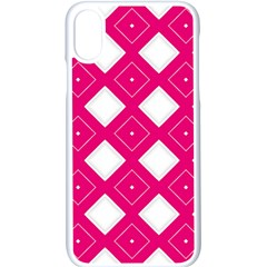 Backgrounds Pink Iphone X Seamless Case (white)