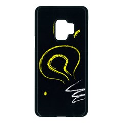 Bulb Light Idea Electricity Samsung Galaxy S9 Seamless Case(black) by HermanTelo