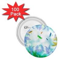 Scrapbooking Tropical Pattern 1.75  Buttons (100 pack)