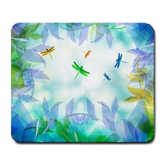 Scrapbooking Tropical Pattern Large Mousepads