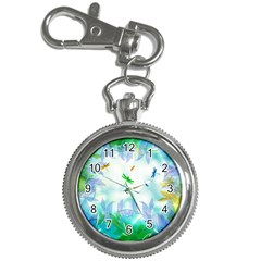 Scrapbooking Tropical Pattern Key Chain Watches