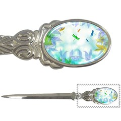 Scrapbooking Tropical Pattern Letter Opener
