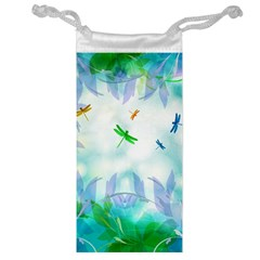 Scrapbooking Tropical Pattern Jewelry Bag