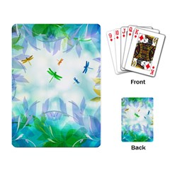 Scrapbooking Tropical Pattern Playing Cards Single Design (Rectangle)
