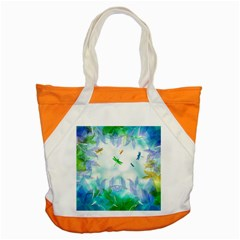 Scrapbooking Tropical Pattern Accent Tote Bag