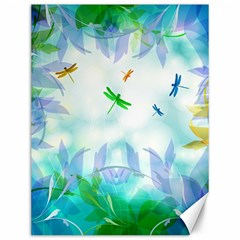 Scrapbooking Tropical Pattern Canvas 12  x 16