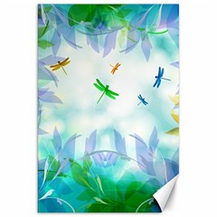 Scrapbooking Tropical Pattern Canvas 20  x 30