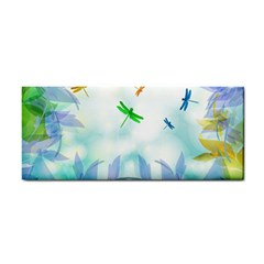 Scrapbooking Tropical Pattern Hand Towel
