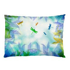 Scrapbooking Tropical Pattern Pillow Case