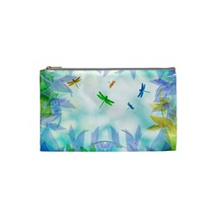 Scrapbooking Tropical Pattern Cosmetic Bag (Small)