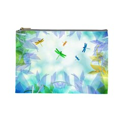 Scrapbooking Tropical Pattern Cosmetic Bag (Large)
