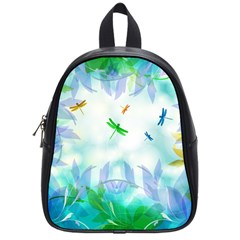 Scrapbooking Tropical Pattern School Bag (Small)