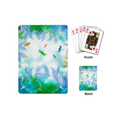 Scrapbooking Tropical Pattern Playing Cards Single Design (Mini)