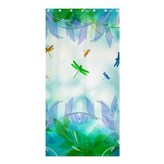 Scrapbooking Tropical Pattern Shower Curtain 36  x 72  (Stall)
