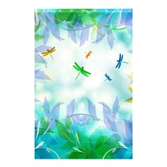 Scrapbooking Tropical Pattern Shower Curtain 48  x 72  (Small)