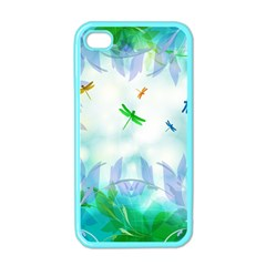 Scrapbooking Tropical Pattern iPhone 4 Case (Color)