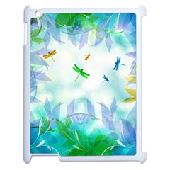 Scrapbooking Tropical Pattern Apple iPad 2 Case (White)
