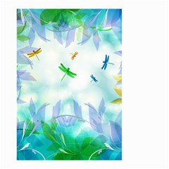 Scrapbooking Tropical Pattern Small Garden Flag (two Sides) by HermanTelo