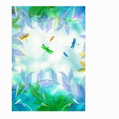 Scrapbooking Tropical Pattern Large Garden Flag (Two Sides)