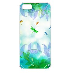Scrapbooking Tropical Pattern Iphone 5 Seamless Case (white) by HermanTelo