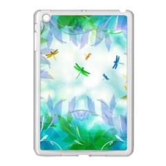 Scrapbooking Tropical Pattern Apple iPad Mini Case (White)