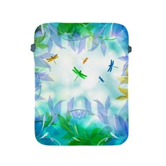 Scrapbooking Tropical Pattern Apple iPad 2/3/4 Protective Soft Cases