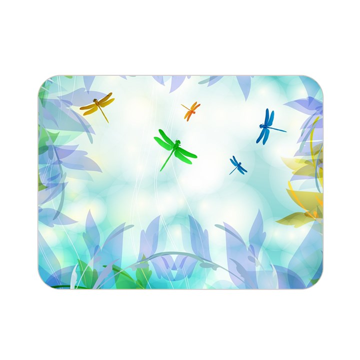 Scrapbooking Tropical Pattern Double Sided Flano Blanket (Mini)