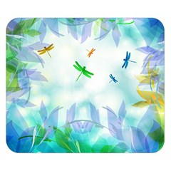 Scrapbooking Tropical Pattern Double Sided Flano Blanket (Small)