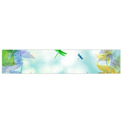 Scrapbooking Tropical Pattern Small Flano Scarf