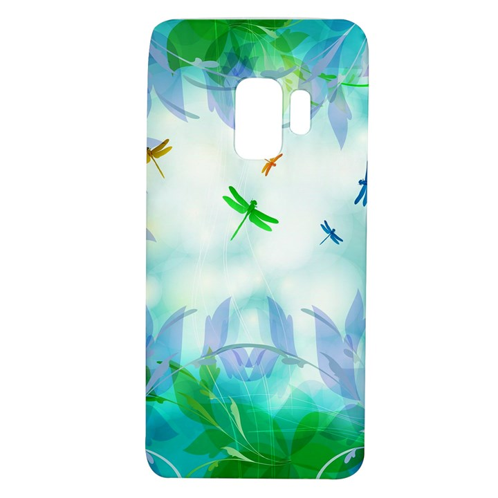 Scrapbooking Tropical Pattern Samsung Galaxy S9 TPU UV Case