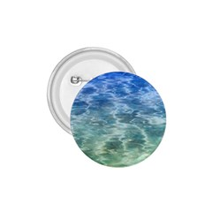 Water Blue Transparent Crystal 1 75  Buttons