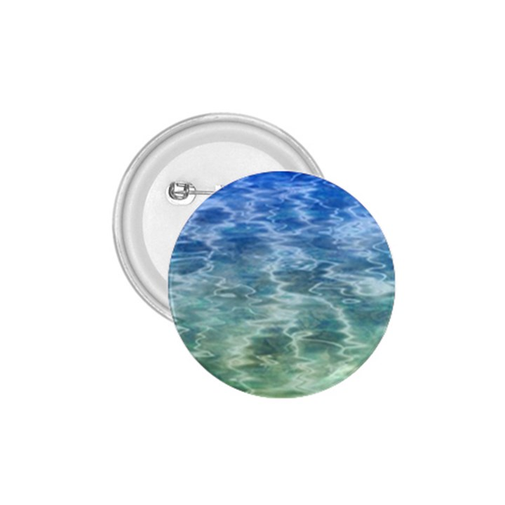 Water Blue Transparent Crystal 1.75  Buttons