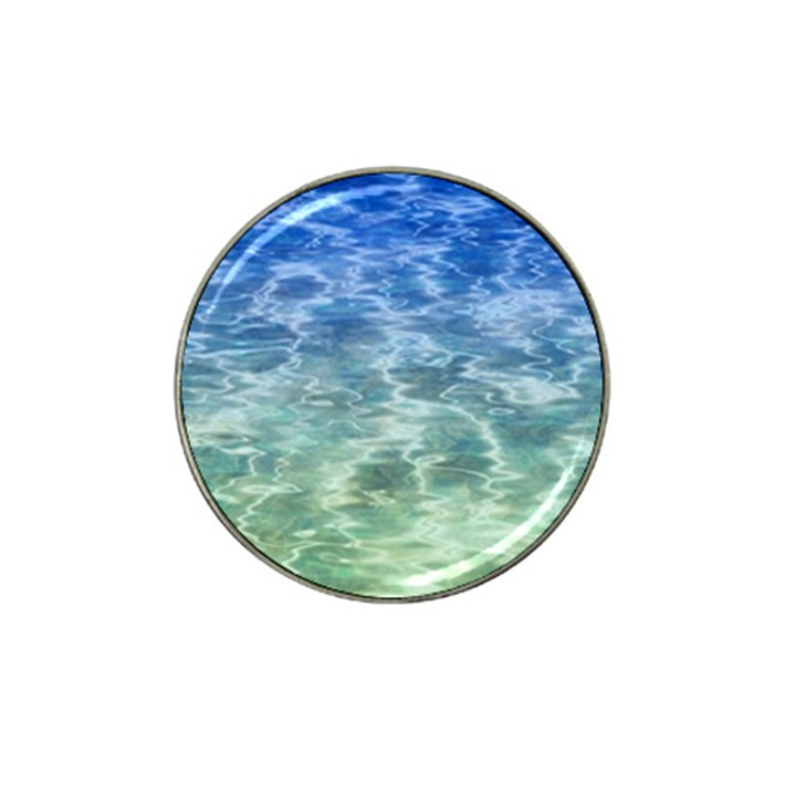 Water Blue Transparent Crystal Hat Clip Ball Marker (10 pack)