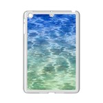 Water Blue Transparent Crystal iPad Mini 2 Enamel Coated Cases Front